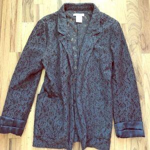 Grey Billabong blazer